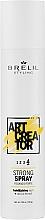 Düfte, Parfümerie und Kosmetik Haarspray mit Kaktusextrakt Starker Halt - Brelil Art Creator Strong Spray