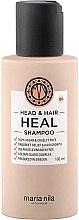 Düfte, Parfümerie und Kosmetik Shampoo gegen Schuppen mit Vitamin E und Aloe Vera-Extrakt - Maria Nila Head & Hair Heal Shampoo