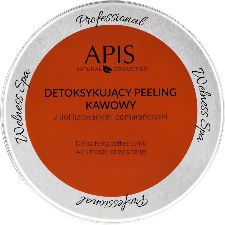 Kaffeekörperpeeling mit Orange - Apis Professional Detoxifying Coffee Scrub Orange — Bild N2