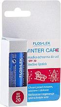 Lippenschutzbalsam SPF 20 - Floslek Winter Care Protective Lipstick — Bild N1
