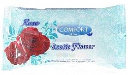 Düfte, Parfümerie und Kosmetik Feuchttücher Rose - Comfort Exotic Flower