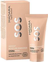 Düfte, Parfümerie und Kosmetik Feuchtigkeitsspendende Gesichtsmaske - Madara Cosmetics SOS Instant Moisture+Radiance Hydra Mask