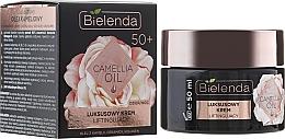 Düfte, Parfümerie und Kosmetik Luxuriöse Gesichtscreme für Tag und Nacht mit Liftingeffekt 50+ - Bielenda Camellia Oil Luxurious Lifting Cream 50+
