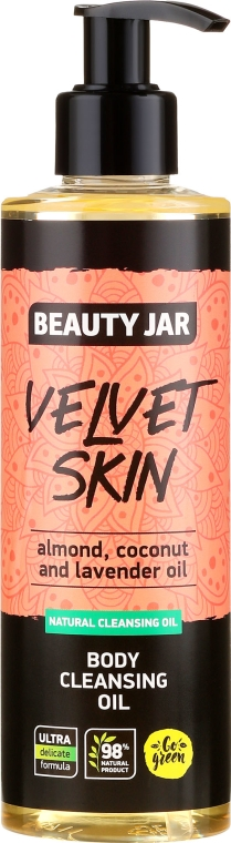 Körperreinigungsöl mit Mandel-, Kokos- und Lavendelöl - Beauty Jar Velvet Skin Body Cleansing Oil — Bild N1
