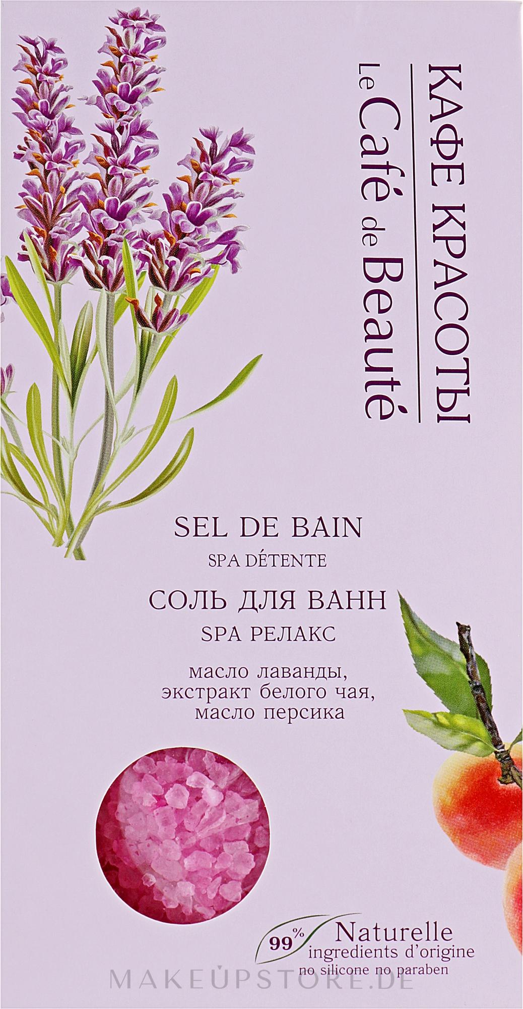 Badesalz SPA Relax - Le Cafe de Beaute Sel De Bain Spa — Bild 400 g
