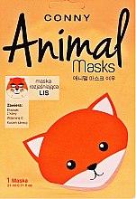 Düfte, Parfümerie und Kosmetik Gesichtsmaske Fuchs mit Kaffeeextrakt und Vitamin C - Conny Animal Essence Mask