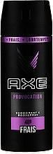 Düfte, Parfümerie und Kosmetik Deospray Antitranspirant - Axe Provocation Men Deodorant Bodyspray