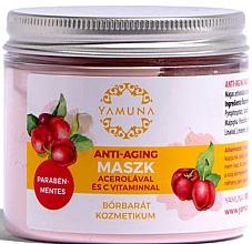 Düfte, Parfümerie und Kosmetik Anti-Aging Gesichtsmaske mit Acerola und Vitamin C - Yamuna Anti-aging Mask With Acerola And C-vitamin