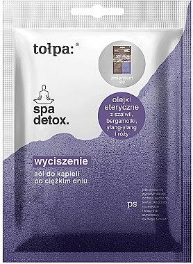Anti-Stress Badesalze - Tolpa Spa Detox — Bild N1