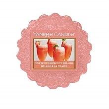 Düfte, Parfümerie und Kosmetik Tart-Duftwachs White Strawberry Bellini - Yankee Candle White Strawberry Bellini Tarts Wax Melts