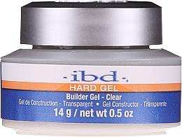 Düfte, Parfümerie und Kosmetik UV Aufbaugel transparent - IBD Hard Gel Builder Gel UV Clear