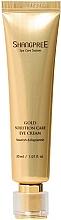 Düfte, Parfümerie und Kosmetik Pflegende und feuchtigkeitsspendende Augencreme  - Shangpree Gold Solution Care Eye Cream