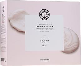 Düfte, Parfümerie und Kosmetik Haarpflegeset - Maria Nila Luminous Colour Gift Set (Shampoo 350ml + Conditioner 300ml + Flüssigseife 300ml)