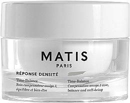 Düfte, Parfümerie und Kosmetik Anti-Aging Gesichtscreme für die Haut in den Wechseljahren mit Kakaobohnenextrakt und Omega 3 - Matis Reponse Densite Time-Balance