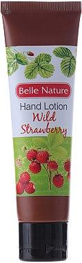 Handlotion mit Wald-Erdbeere - Belle Nature Hand Lotion Wild Strawberry — Bild N1