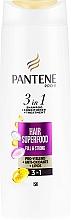 Pflegeshampoo für schwaches und dünnes Haar mit Pro-V Komplex, Antioxidantien und Lipiden - Pantene Pro-V Superfood Shampoo — Bild N1