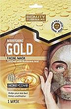 Düfte, Parfümerie und Kosmetik Pflegende Gesichtsmaske - Beauty Formulas Gold Norishing Facial Mask