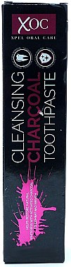 Zahnpasta mit Aktivkohle - Xpel Marketing Ltd Oral Care XOC Cleansing Charcoal Toothpaste — Bild N1