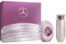 Düfte, Parfümerie und Kosmetik Mercedes-Benz Mercedes-Benz Woman - Duftset (Eau de Toilette/60 ml + Körperlotion/125ml)