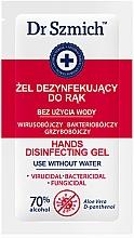 Düfte, Parfümerie und Kosmetik Antibakterielles Handreinigungsgel - Dr. Szmich Hands Disinfecting Gel (Probe)