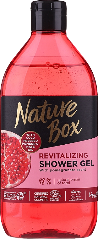 Duschgel mit Granatapfel-Öl - Nature Box Pomegranate Oil Shover Gel