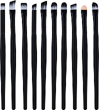 Düfte, Parfümerie und Kosmetik Professionelles Make-up Pinselset schwarz 10-tlg. - Lewer