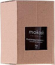 Düfte, Parfümerie und Kosmetik Glättende Gesichtscreme mit Feigenextrakt - Mokosh Cosmetics Figa Smoothing Facial Cream