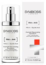 Düfte, Parfümerie und Kosmetik Verjüngendes Augenserum für die Nacht - Symbiosis London Overnight Rejuvenating Eye Serum