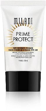 Gesichtsprimer mit SPF 30 - Milani SPF 30 Prime Protect SPF 30 Face Primer — Bild N1