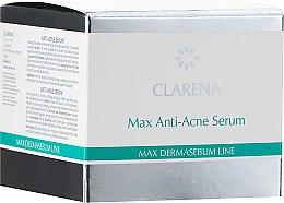 Düfte, Parfümerie und Kosmetik Intensives Anti-Akne Gesichtsserum mit Weidenextrakt - Clarena Bio Dermasebum Line Max Anti Acne Serum