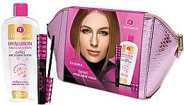 Düfte, Parfümerie und Kosmetik Make-up Set - Dermacol (Mizellenwasser 400ml + Wimperntusche 10ml + Kosmetiktasche)