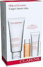 Düfte, Parfümerie und Kosmetik Körperpflegeset - Clarins Objectif Fermete (Körperlotion 200ml + Pflanzliches Badekonzentrat 30ml + Körperpeeling 30ml)