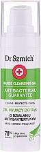 Düfte, Parfümerie und Kosmetik Antibakterielles Handreinigungsgel mit Aloe Vera und D-Panthenol - Dr. Szmich Antibacterial Guarantee Hands Cleansing Gel