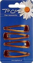 Düfte, Parfümerie und Kosmetik Haarspangen 23293 4 St. - Top Choice
