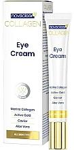 Düfte, Parfümerie und Kosmetik Augenkonturcreme mit Kollagen - Novaclear Collagen Eye Cream