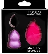 Düfte, Parfümerie und Kosmetik Make-up Schwämmchen-Set 3-tlg. - Gabriella Salvete Make-up Sponge Kit