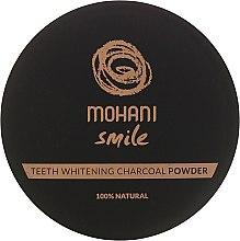 100% Natürliches bleichendes Zahnpulver mit Holzkohle - Mohani Smile Teeth Whitening Charcoal Powder — Bild N2