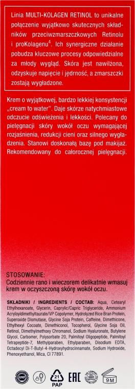 Augenkonturcreme - Dax Cosmetics Perfecta Multi-Collagen Retinol Eye Cream 40+/50+ — Bild N3