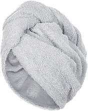 Düfte, Parfümerie und Kosmetik Haarturban grau - MakeUp