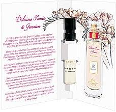 Düfte, Parfümerie und Kosmetik Dermacol Delicious Freesia And Geranium - Eau de Parfum (Probe)