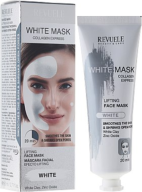 Gesichtsmaske mit Liftingeffekt - Revuele White Mask Lifting Face Mask — Bild N3