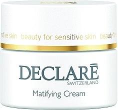 Düfte, Parfümerie und Kosmetik Mattierende Gesichtscreme für empfindliche Haut - Declare Matifying Hydro Cream