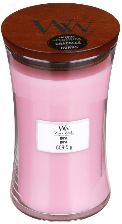 Duftkerze im Glas Rose - WoodWick Hourglass Candle Rose — Bild N2