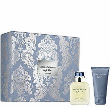 Düfte, Parfümerie und Kosmetik Dolce&Gabbana Light Blue Pour Homme - Duftset (Eau de Toilette 75ml + After Shave Balsam 50ml)