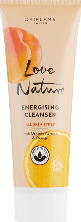 Gesichtsreinigungsgel mit Bio-Aprikose und Orange - Oriflame Love Nature Energising Cleanser
