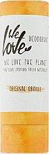 Düfte, Parfümerie und Kosmetik Deostick mit spanischem Mandarinenduft - We Love The Planet Original Orange Deodorant Stick