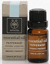 Düfte, Parfümerie und Kosmetik Ätherisches Pfefferminzöl - Apivita Aromatherapy Organic Peppermint Oil