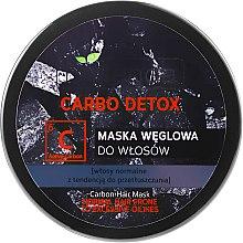 Düfte, Parfümerie und Kosmetik Detox-Haarmaske mit Aktivkohle - Bielenda Carbo Detox Charcoal Hair Mask