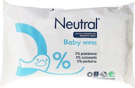Sanfte und beruhigende Baby Feuchttücher - Neutral Baby Wet Wipes — Bild N3