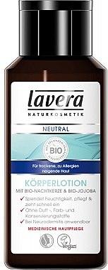 Körperlotion mit Bio Nachtkerze und Bio Jojoba für trockene und zu Allergien neigende Haut - Lavera Neutral Body Lotion — Bild N1